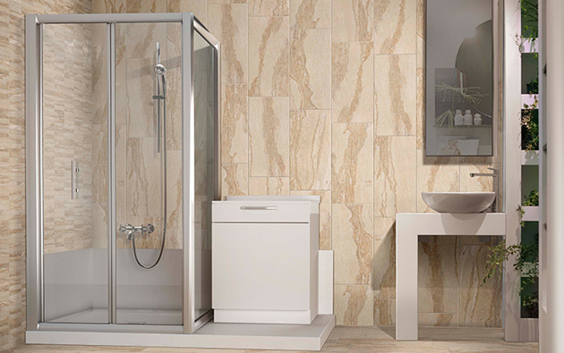 La vasca si fa doccia con grandform pozzoli s p a