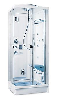 Teuco box doccia idromassaggio 154 comfort pozzoli s p a - Doccia bagno turco teuco ...