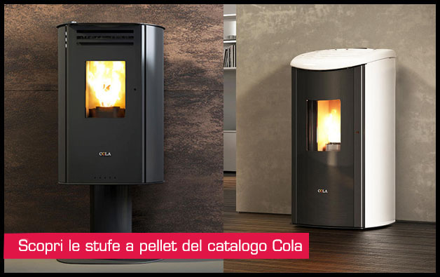 Scopri le stufe a pellet del catalogo cola pozzoli s p a - Catalogo stufe a pellet ...