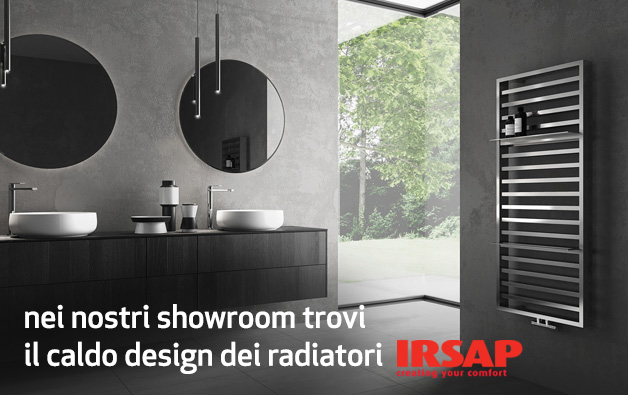 Il caldo design dei radiatori IRSAP