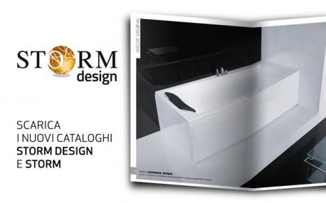 Storm Design e Storm, online i nuovi cataloghi